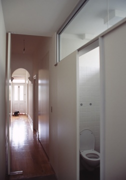 mitchinson_hallway + guest bathroom