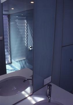 manning_en-suite - view in vanity mirror