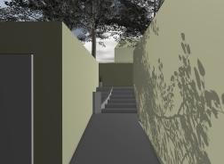 McEwin Pace Residence 46_3D_garden entry_Stephen Varady Photo ©