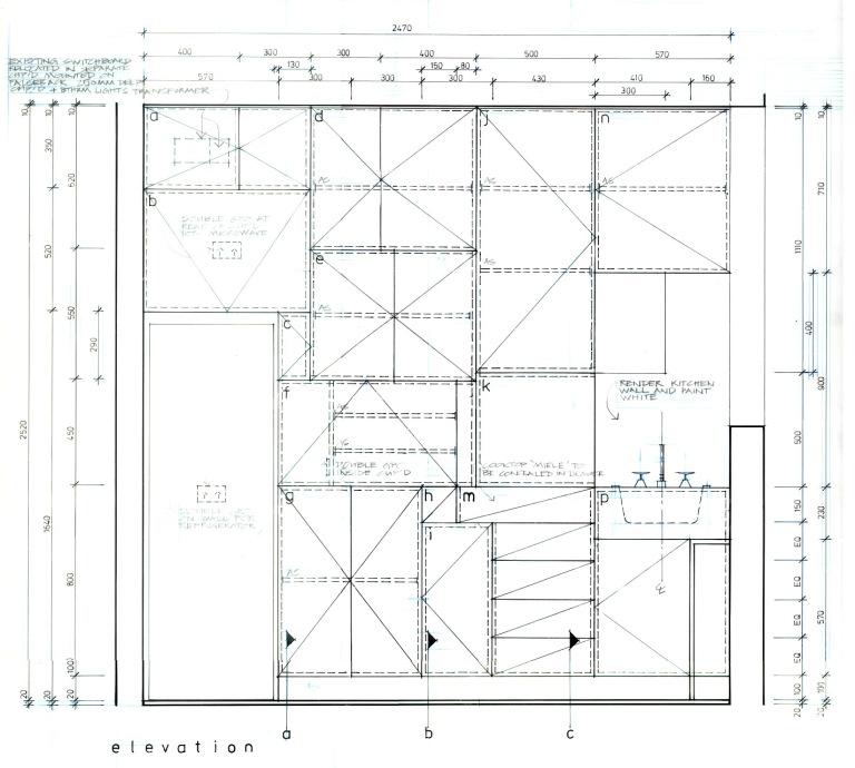 Perraton Apartment_construction_kitchen1_Stephen Varady ©