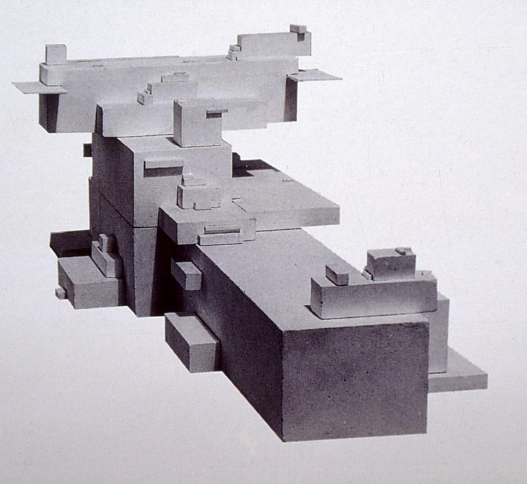 Perraton Apartment 01_Arkhitekton 'Alpha', 1920 by Kazimir Malevich