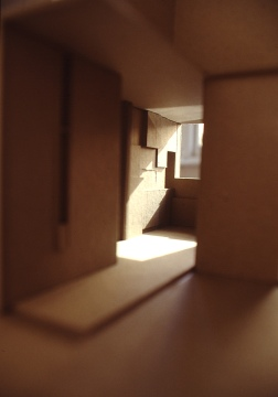 Perraton Apartment 06_model of entry hall_Stephen Varady Photo ©