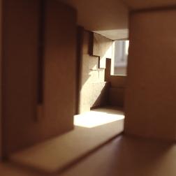 Perraton Apartment 06_model of entry hall_Stephen Varady Photo ©