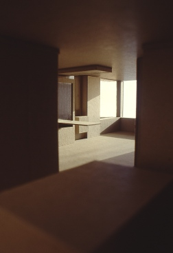 Perraton Apartment 10_model view from bedroom_Stephen Varady Photo ©