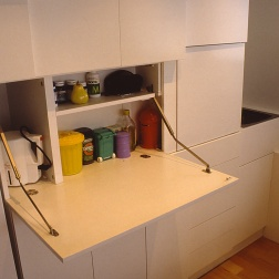 Perraton Apartment 20_kitchen detail_preparation bench_Stephen Varady Photo ©