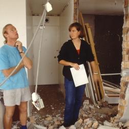 Perraton Apartment 32_view to bedroom_construction_Stephen Varady Photo ©