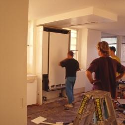 Perraton Apartment 44_installing table 1_Stephen Varady Photo ©
