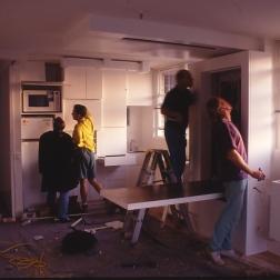 Perraton Apartment 49_installing table 6_Stephen Varady Photo ©