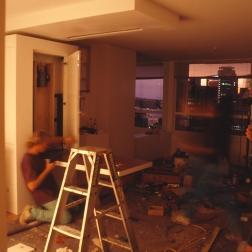 Perraton Apartment 50_installing table 7_Stephen Varady Photo ©