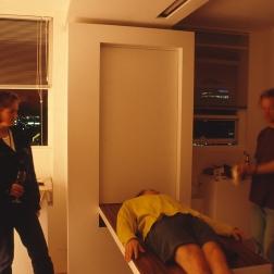 Perraton Apartment 51_installing table 8_Stephen Varady Photo ©