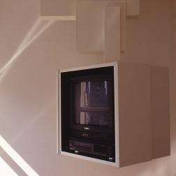 Perraton Apartment 54_sliding television box_open_Stephen Varady Photo ©