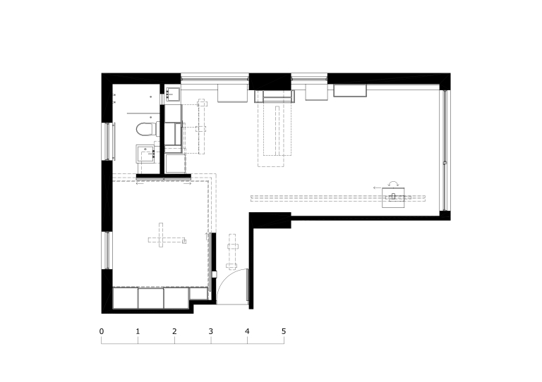 Perraton Apartment_floor plan_Stephen Varady ©
