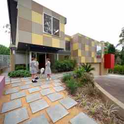 Fullagar Residence 01_front (east) elevation 1_John Gollings Photo ©