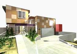 Fullagar Residence 02_3D_front (east) elevation_Stephen Varady Image ©
