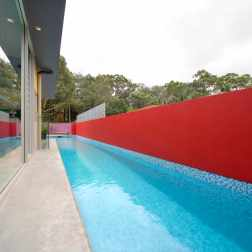 Fullagar Residence 13_16.6m lap pool_John Gollings Photo ©