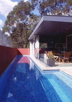 Fullagar Residence 14_16.6m lap pool_Stephen Varady Photo ©
