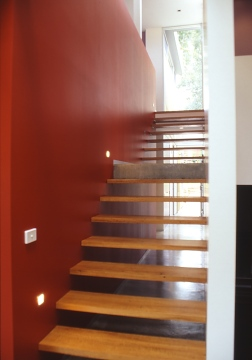 Fullagar Residence 24_stairwell_Stephen Varady Photo ©