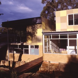 Fullagar Residence 40_rear (west) elevation_Stephen Varady Photo ©