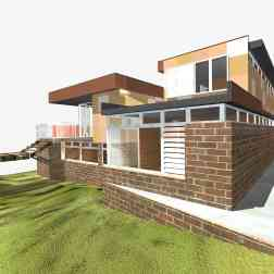 Fullagar Residence 41_3D_rear (west) elevation_Stephen Varady Image ©