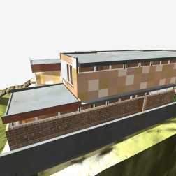Fullagar Residence 42_3D_south elevation_Stephen Varady Image ©