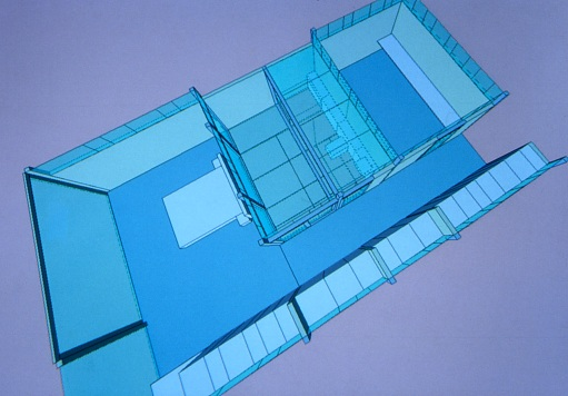 McCarthy Residence 18_3D drawing of first floor extension_Stephen Varady Photo ©