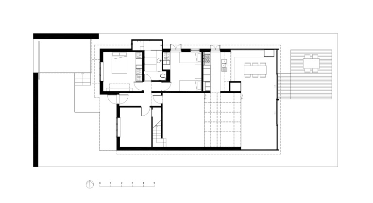 McCarthy Residence_plan 0_ground floor_Stephen Varady Image ©