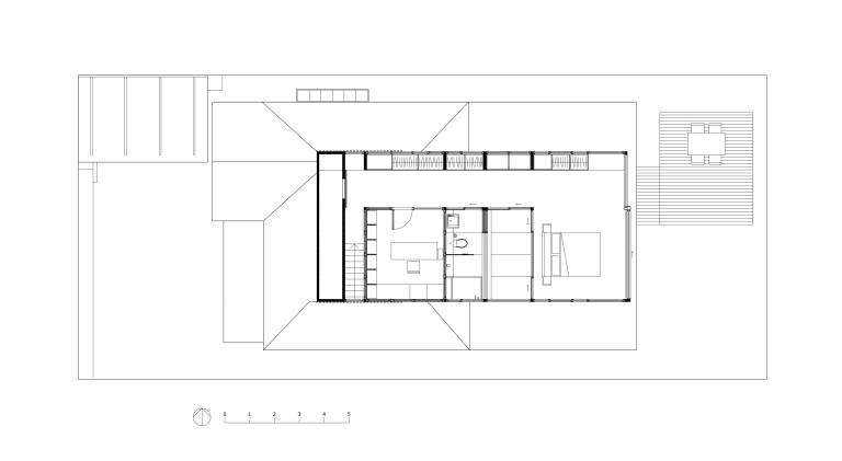 McCarthy Residence_plan 1_first floor_Stephen Varady Image ©