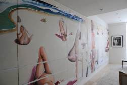 Nasteski Bondi Pacific Penthouse 08_entry after with 'Bondi Beach' by Brett Whiteley 2_Stephen Varady Photo ©