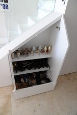 Nasteski Bondi Pacific Penthouse 13_stair + shoe storage_Stephen Varady Photo ©