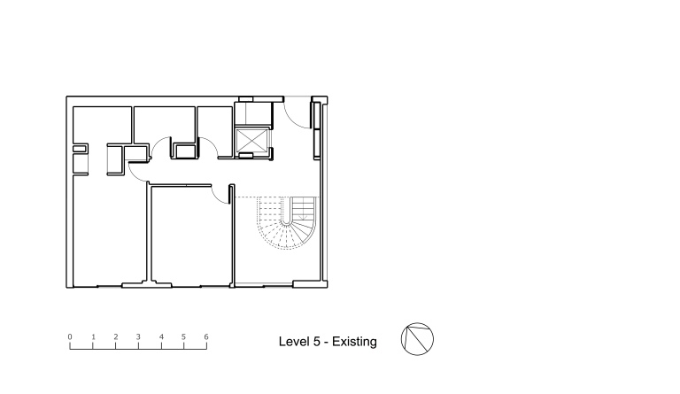 Nasteski Bondi Pacific Penthouse_lower plan_existing_Stephen Varady Image ©