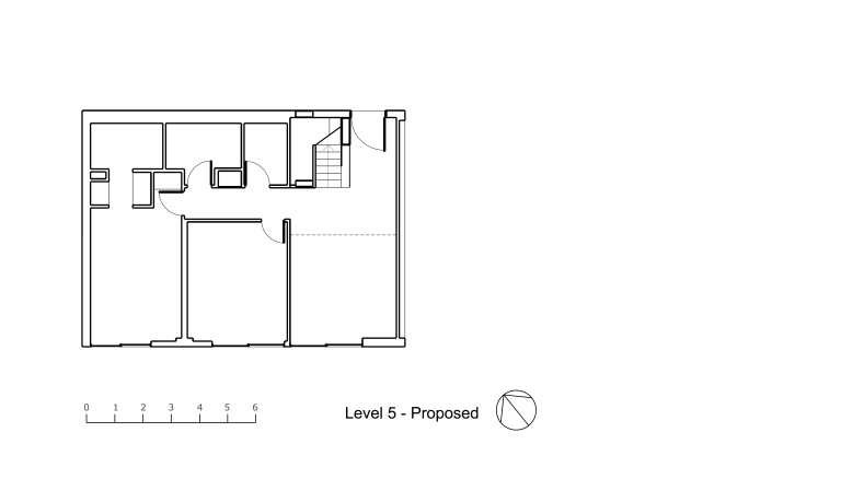 Nasteski Bondi Pacific Penthouse_lower plan_proposed_Stephen Varady Image ©