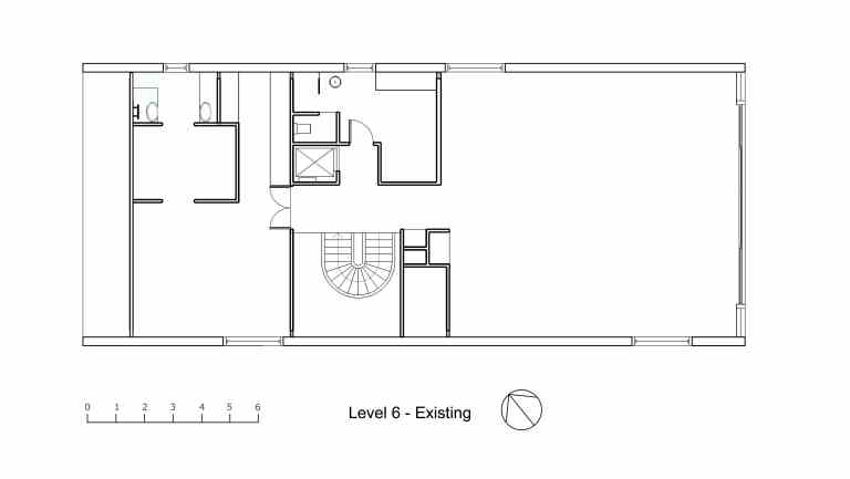 Nasteski Bondi Pacific Penthouse_upper plan_existing_Stephen Varady Image ©
