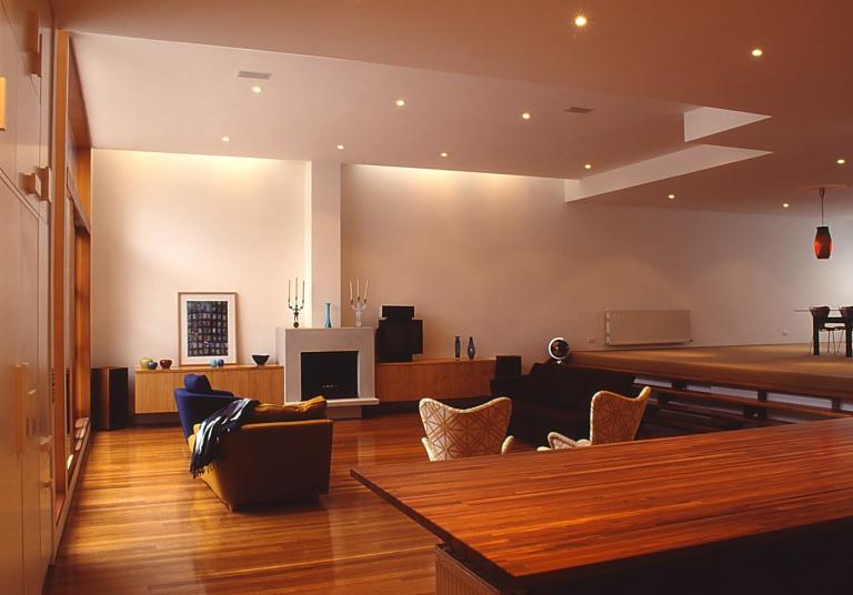 Slobom Residence #1_10_living + dining_after_Stephen Varady Photo ©