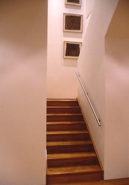 Slobom Residence #1_23_stair to second floor_Stephen Varady Photo ©