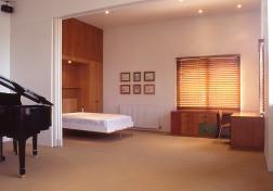 Slobom Residence #1_36_study + guest room + fold-up bed_Stephen Varady Photo ©