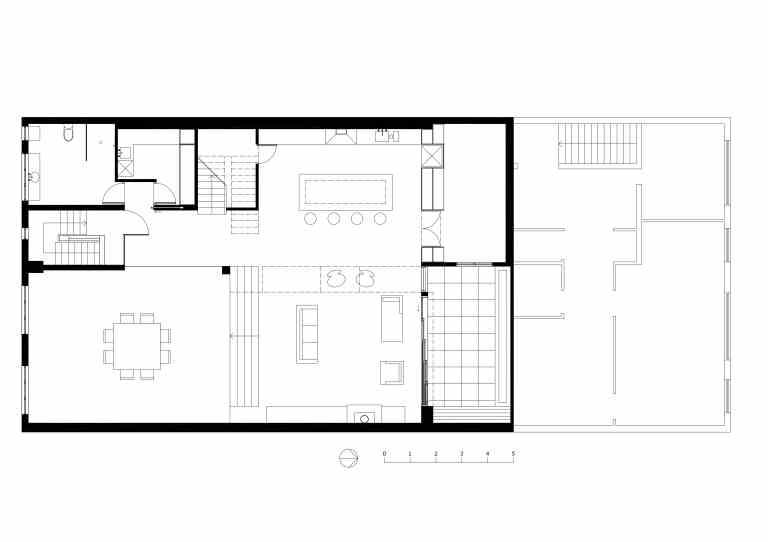 Slobom Residence #1_plan 1_first floor_Stephen Varady ©