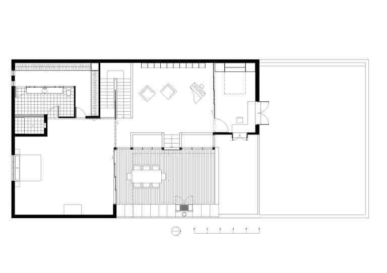 Slobom Residence #1_plan 2_second floor_Stephen Varady ©