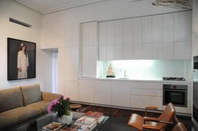 Hynes Apartment 01_kitchen + living_Stephen Varady Photo ©