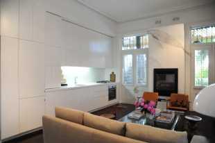 Hynes Apartment 04_kitchen + living_Stephen Varady Photo ©
