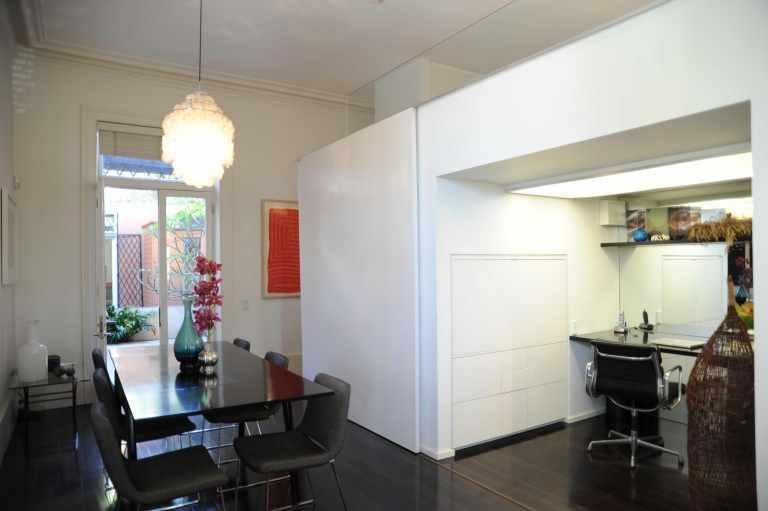 Hynes Apartment 08_dining + study 2_Stephen Varady Photo ©
