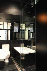 Hynes Apartment 18_black bathroom 4_Stephen Varady Photo ©