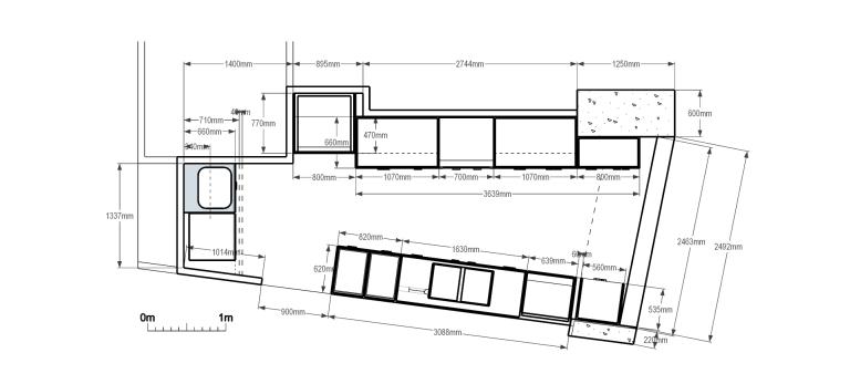 Moss Buswell Apartment_plan_Stephen Varady Image ©
