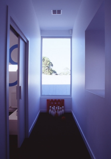 Slobom Residence #2_43_children's hallway_Stephen Varady Photo ©