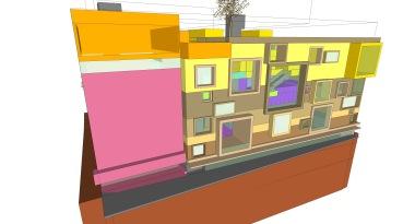 beirut house of arts + culture_sketch design_02_3d_south elevation