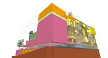 beirut house of arts + culture_sketch design_03_3d_south-west