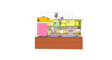 beirut house of arts + culture_sketch design_06_south elevation