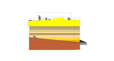 beirut house of arts + culture_sketch design_09_east elevation