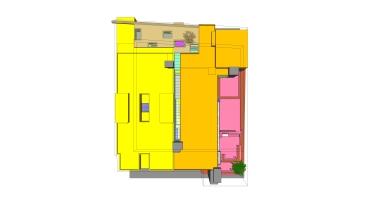 beirut house of arts + culture_sketch design_10_roof elevation