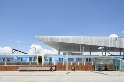 frankston station competition - winners genton architects - completed building 02
