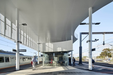frankston station competition - winners genton architects - completed building 04